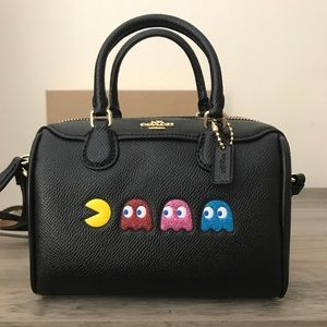 Coach Pac-Man Crossbody Bag NWT
